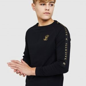 Illusive London Long Sleeve Tape T-Paita Musta