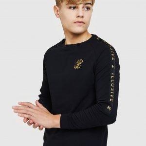 Illusive London Long Sleeve Tape T-Paita Musta