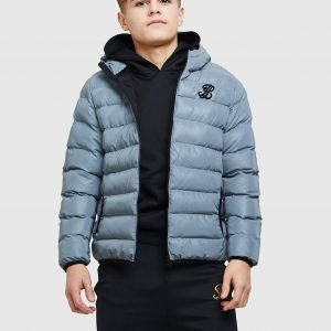 Illusive London Reflective Padded Jacket Harmaa