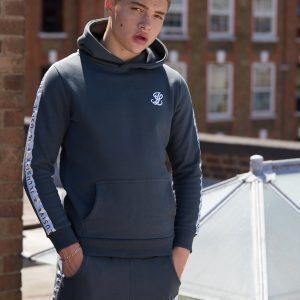 Illusive London Tape Fleece Hoodie Vihreä