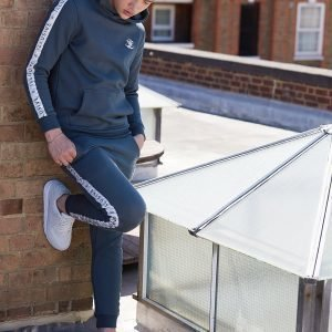 Illusive London Tape Fleece Track Pants Vihreä