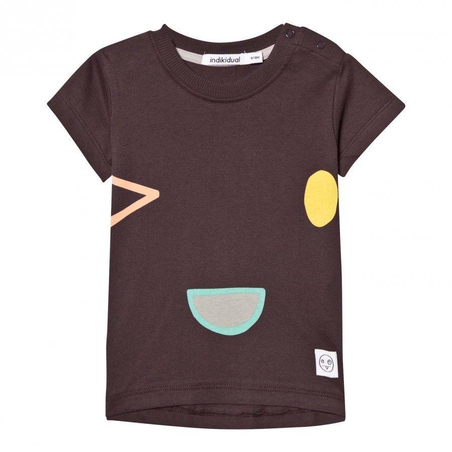 Indikidual Black Sake T-Shirt T-Paita