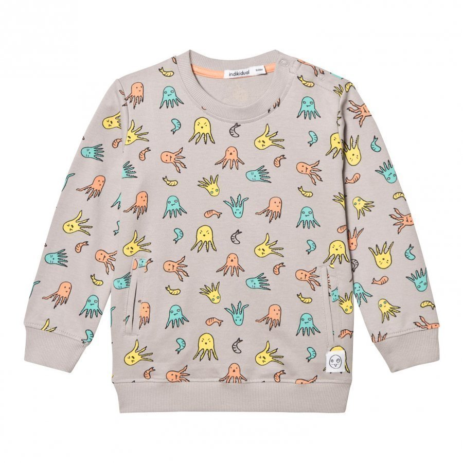 Indikidual Grey Uni Sweatshirt Oloasun Paita