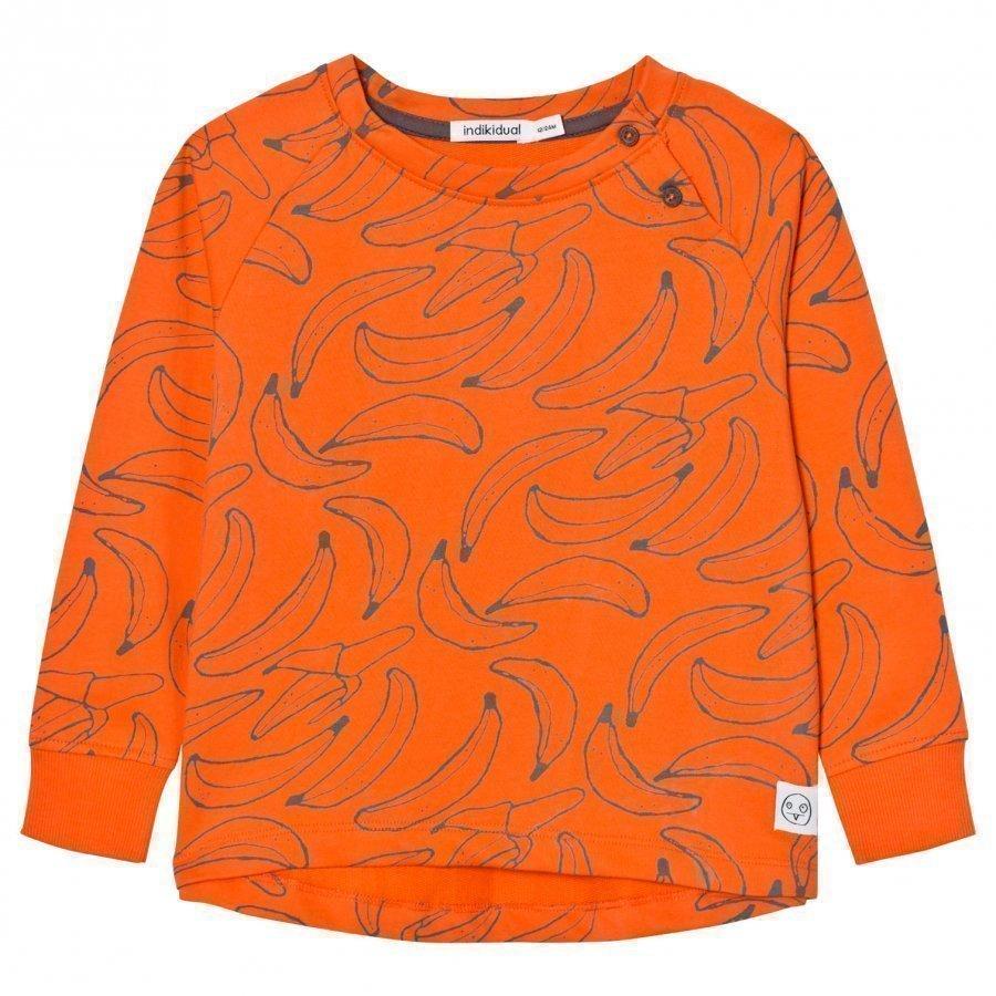 Indikidual Orange Banana Slouchy Sweatshirt Oloasun Paita