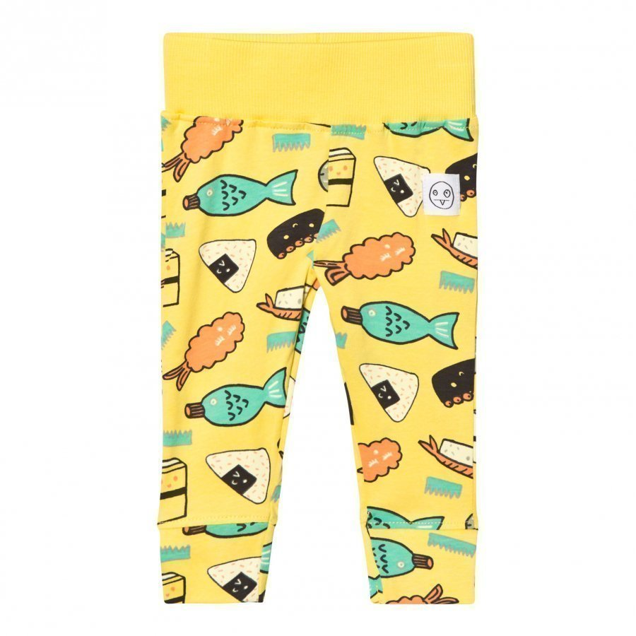 Indikidual Yellow Sushi Leggings Legginsit