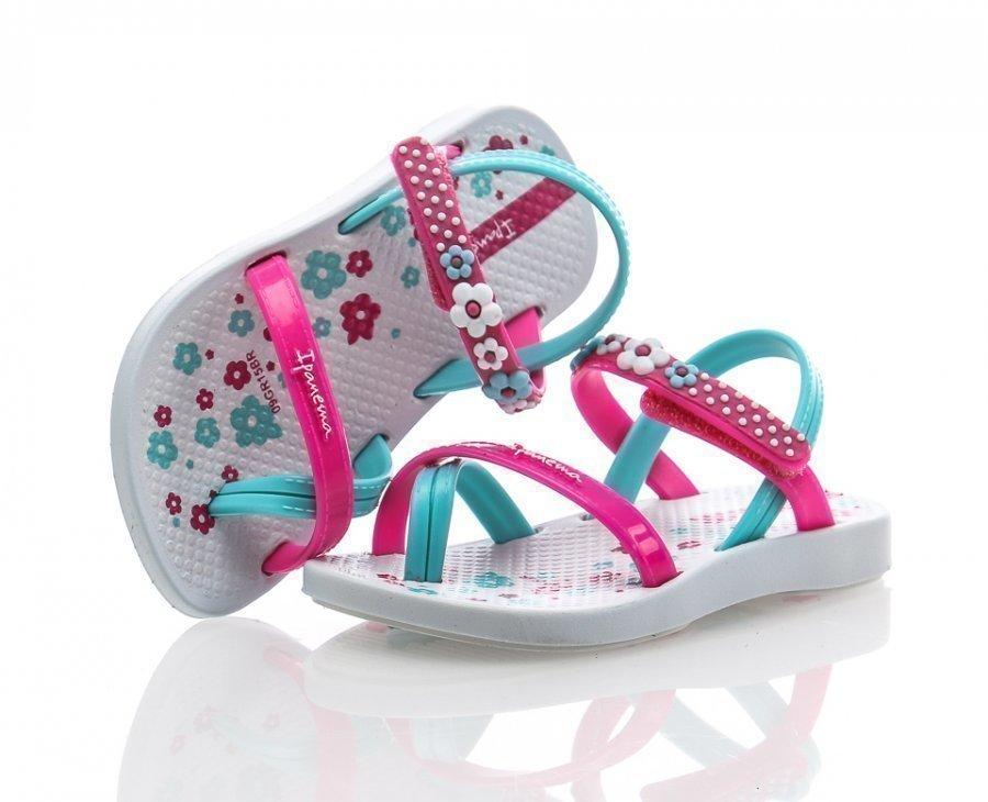 Ipanema Fashion Sandal Iv Kids Flipflopit Valkoinen / Roosa / Sininen