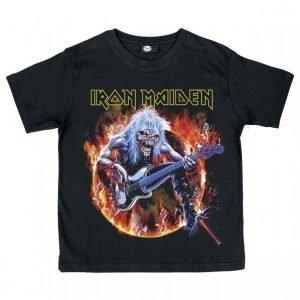 Iron Maiden Eddie Bass T-paita