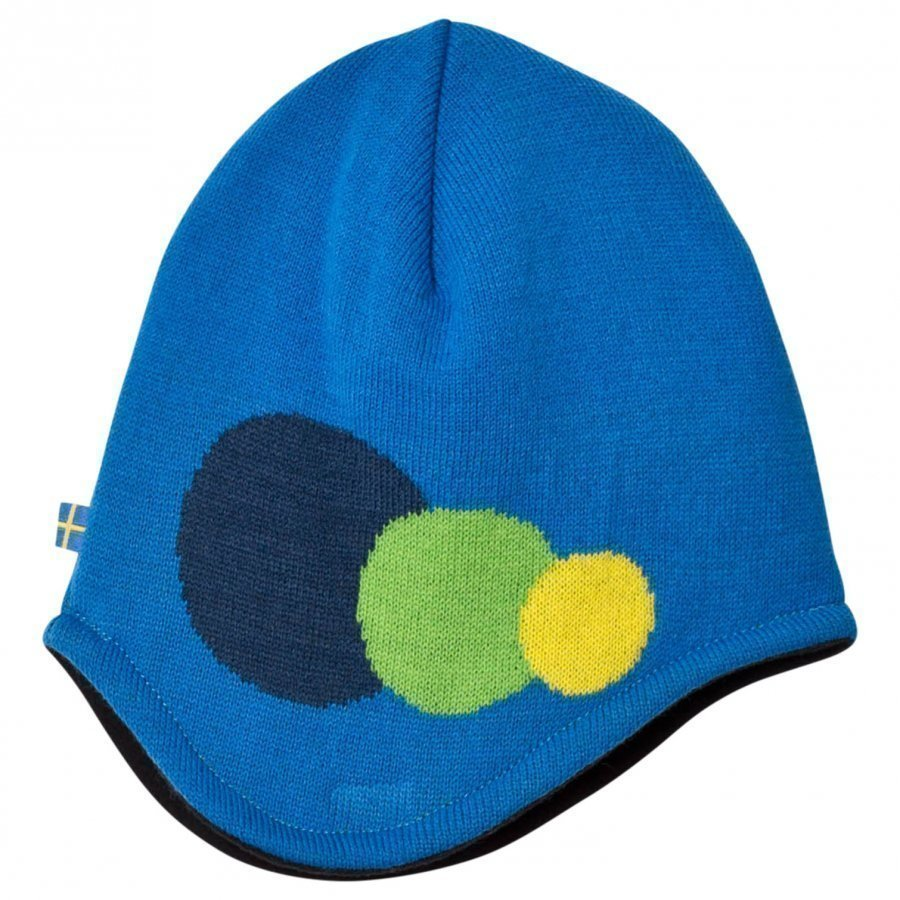Isbjörn Of Sweden Blue Hat 3 Dots Pipo
