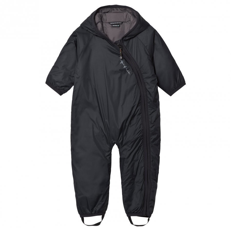 Isbjörn Of Sweden Frost Baby Coverall Black Toppahaalari