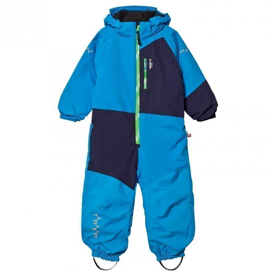 Isbjörn Of Sweden Halfpipe Winter Jumpsuit Turquoise Toppahaalari