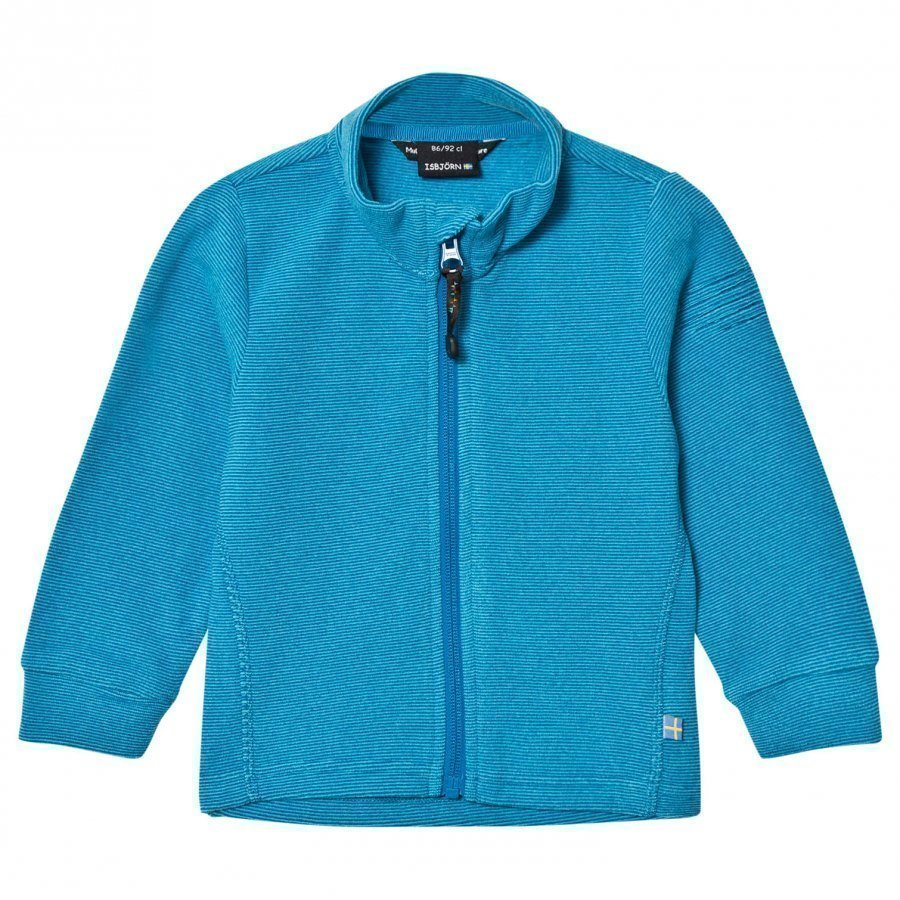 Isbjörn Of Sweden Lynx Microfleece Jacket Kids Turquoise Fleece Takki
