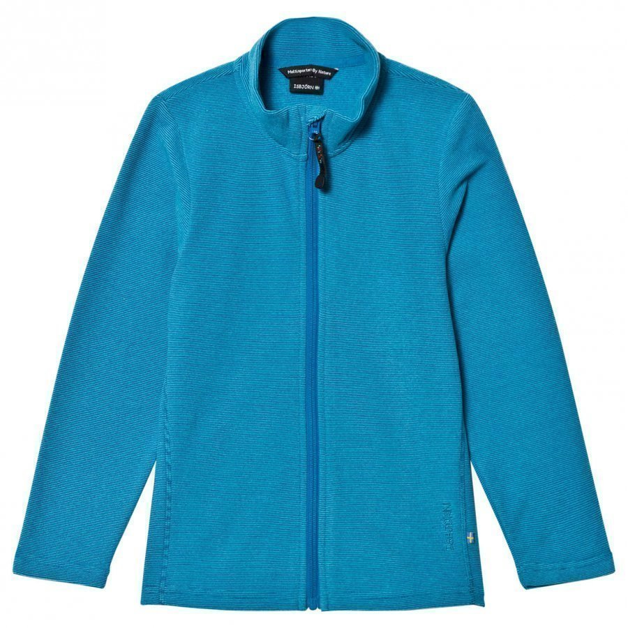 Isbjörn Of Sweden Lynx Microfleece Jacket Turquoise Fleece Takki