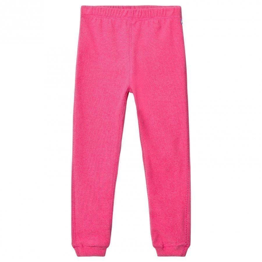 Isbjörn Of Sweden Lynx Microfleece Pants Pink Fleece Housut
