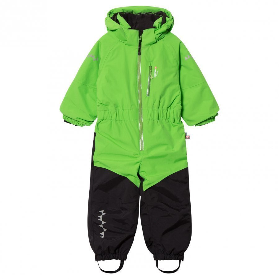 Isbjörn Of Sweden Penguin Snowsuit Green Toppahaalari