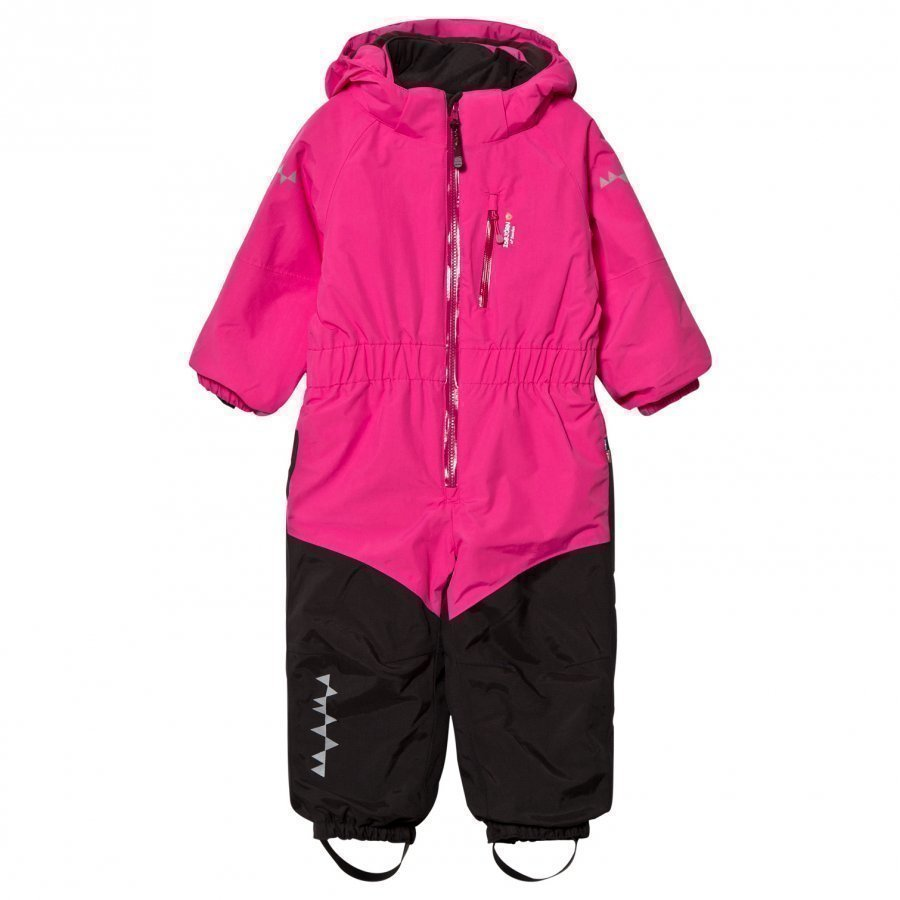 Isbjörn Of Sweden Penguin Snowsuit Pink Toppahaalari