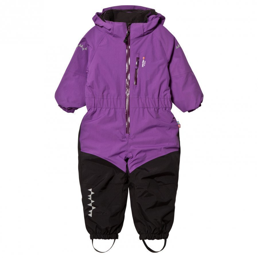 Isbjörn Of Sweden Penguin Snowsuit Purple Toppahaalari