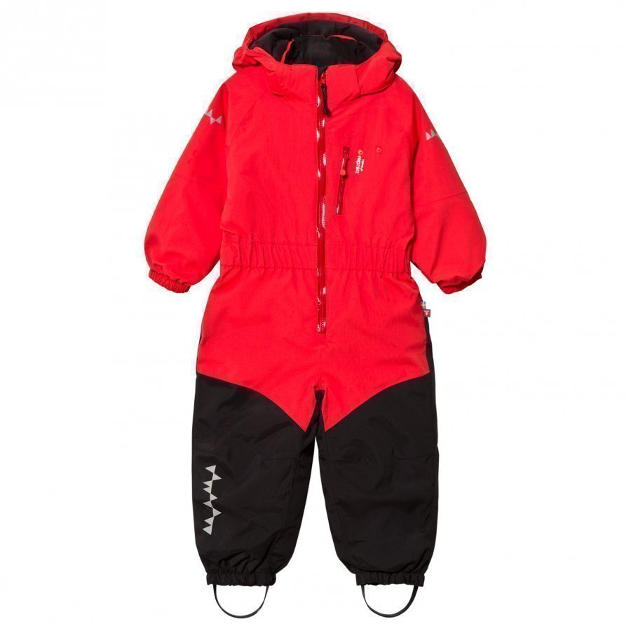 Isbjörn Of Sweden Penguin Snowsuit Red Toppahaalari