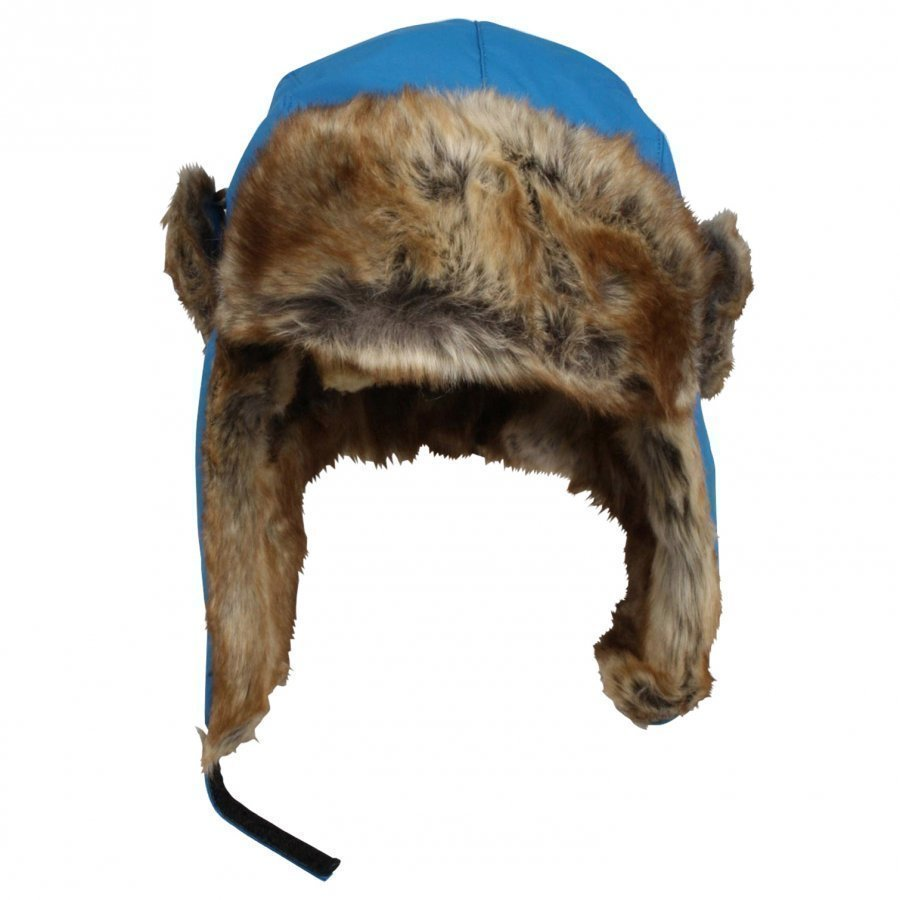Isbjörn Of Sweden Squirrel Cap Swedish Blue Korvalapullinen Päähine