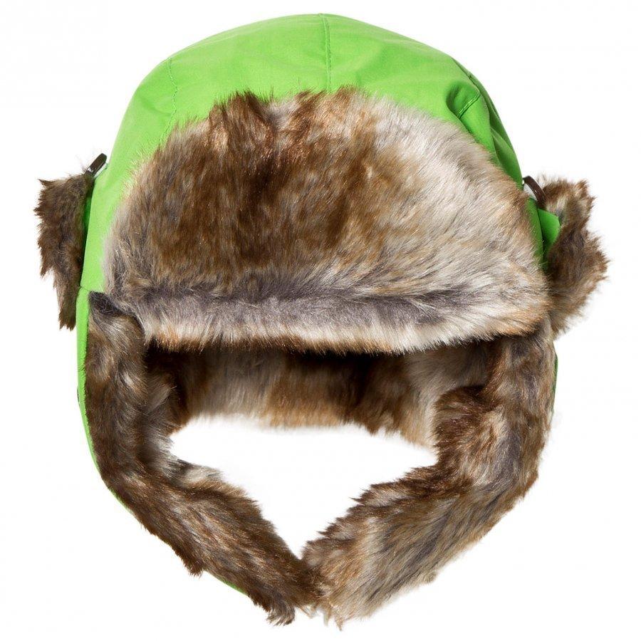 Isbjörn Of Sweden Squirrel Winter Cap Green Karvahattu