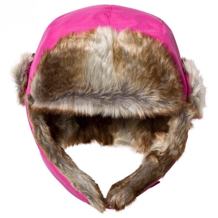 Isbjörn Of Sweden Squirrel Winter Cap Pink Karvahattu