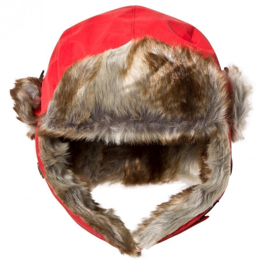 Isbjörn Of Sweden Squirrel Winter Cap Red Karvahattu