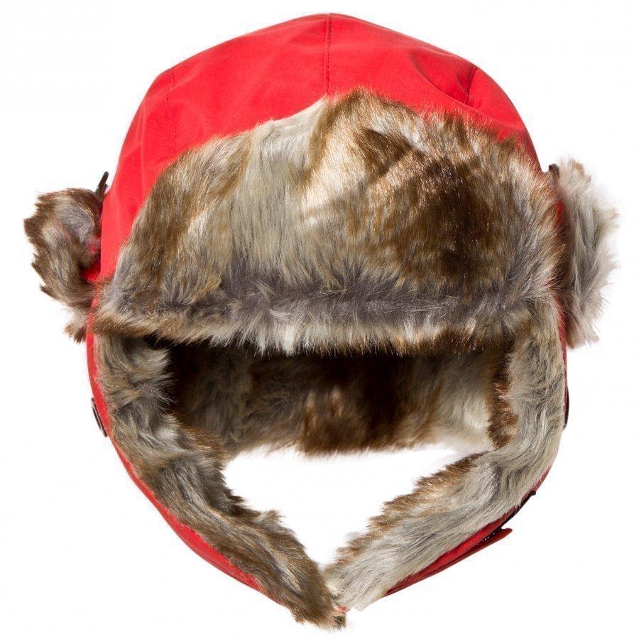 Isbjörn Of Sweden Squirrel Winter Cap Red Karvahattu