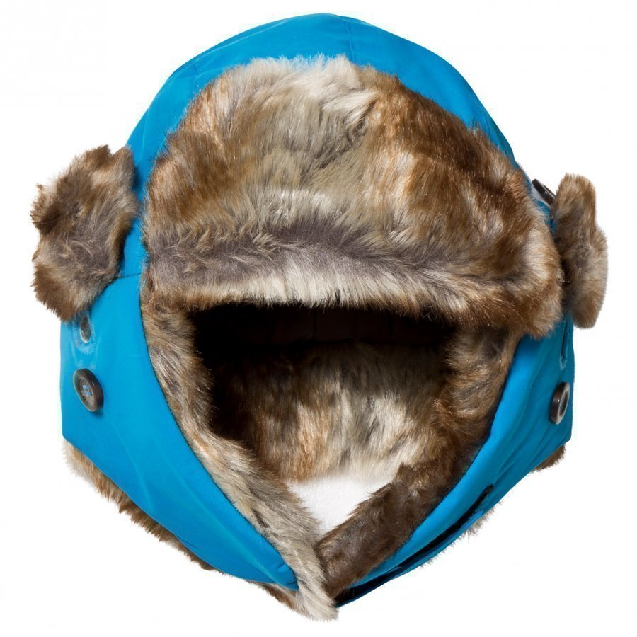 Isbjörn Of Sweden Squirrel Winter Cap Turquoise Karvahattu