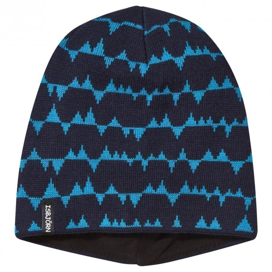 Isbjörn Of Sweden Tiptop Knitted Hat Navy Pipo