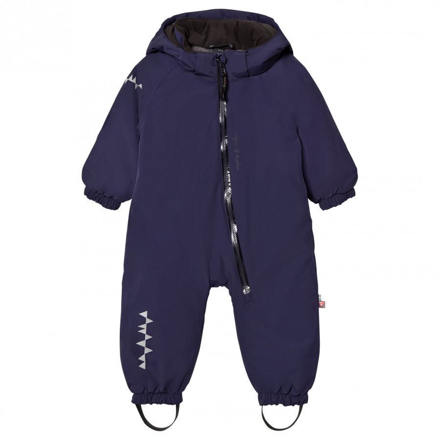 Isbjörn Of Sweden Toddler Padded Coverall Navy Toppahaalari