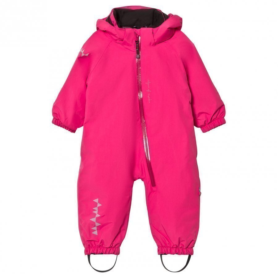 Isbjörn Of Sweden Toddler Padded Coverall Pink Toppahaalari