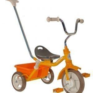 Italtrike Road Work Kolmipyörä Keltainen Oranssi