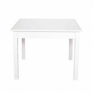 Jabadabado Nelikulmainen Pöytä Valkoinen