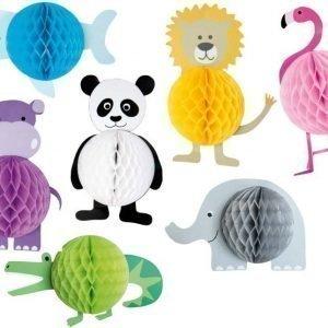 Jabadabado Paperinen kennopallo 4 kpl Safari