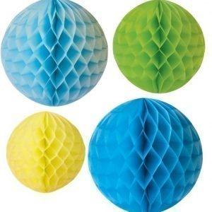 Jabadabado Paperinen kennopallo 4 kpl Sininen