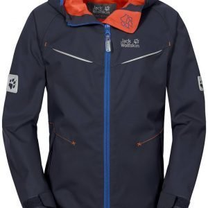 Jack Wolfskin Boys Highland Jacket Kuoritakki Night Blue