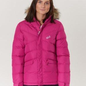 Jack Wolfskin Icefjord Jacket Takki Vaaleanpunainen