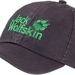 Jack Wolfskin Kids Baseball Cap Lippis Dark Grey