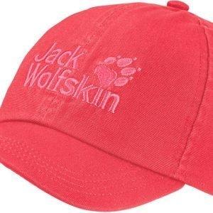 Jack Wolfskin Kids Baseball Cap Lippis Punainen