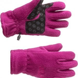 Jack Wolfskin Kids Fleece Glove Fleecesormikkaat Magenta