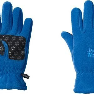 Jack Wolfskin Kids Fleece Glove Fleecesormikkaat Sininen