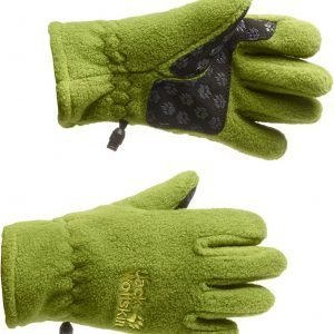 Jack Wolfskin Kids Fleece Glove Fleecesormikkaat Vihreä