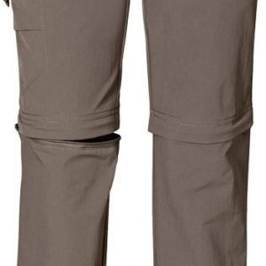 Jack Wolfskin Kids Safari Zip Off Pants Katkolahjehousut Harmaa