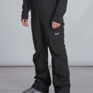 Jack Wolfskin Powder Mountain Pants Kids Toppahousut Musta