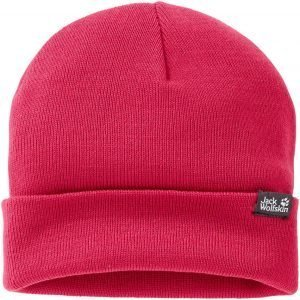 Jack Wolfskin Rib Knit Cap Pipo Berry