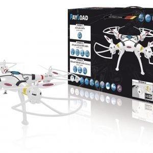 Jamara Kauko-Ohjattava Kopteri R / C Drone Payload Altitude 4+4 Channel Rtf