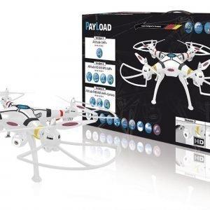 Jamara Kauko-Ohjattava Kopteri R / C Drone Payload Altitude 4+6 Channel Rtf