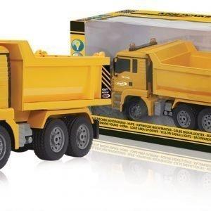 Jamara Kauko-Ohjattava Kuorma Auto R / C Dump Truck Man 3+4 Channel Rtr