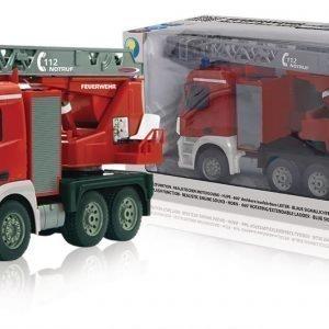 Jamara Kauko-Ohjattava Paloauto R / C Fire Truck Mercedes Antos 4+6 Channel Rtr