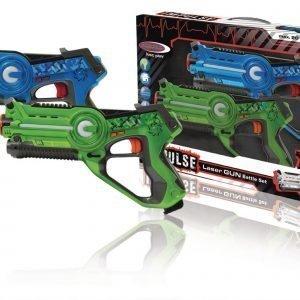 Jamara Lasertaistelusarja 2 Asetta Sininen / Vihreä