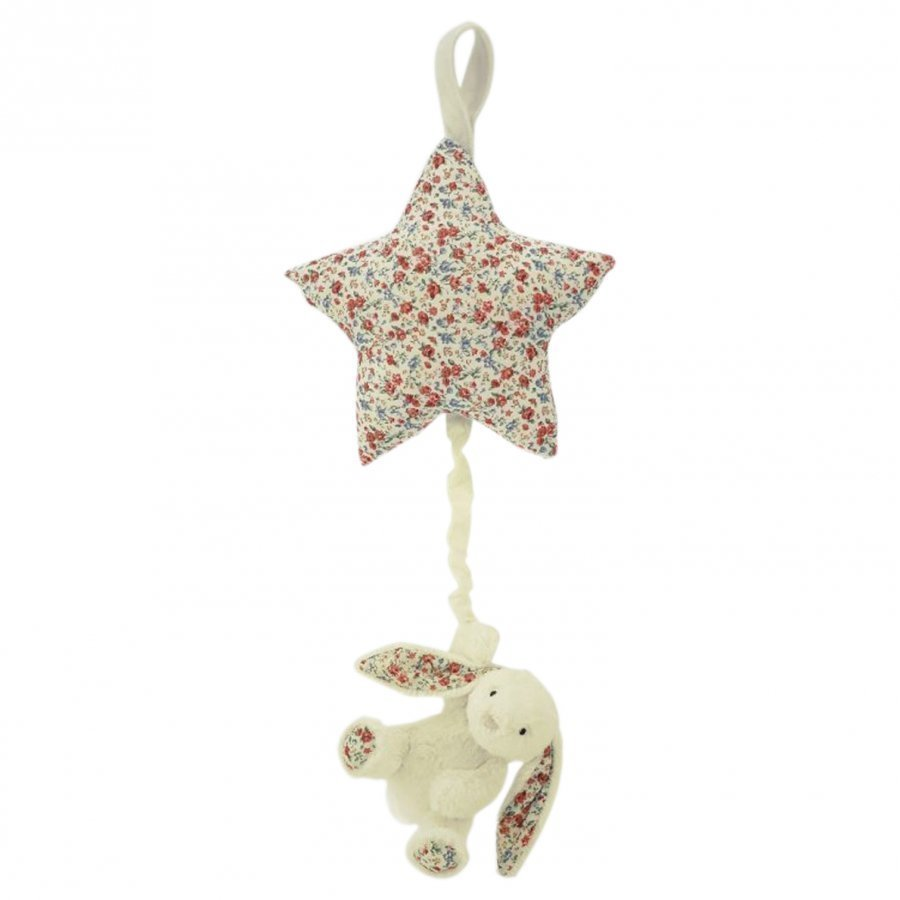 Jellycat Bashful Blossom Star Musical Mobile